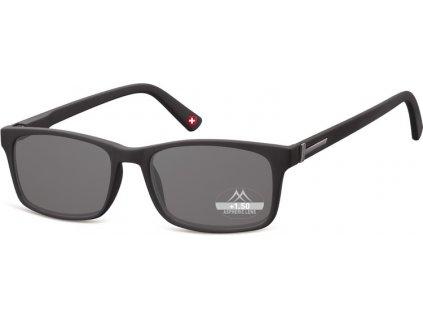 MR73S sluneční brýle na čtení černá