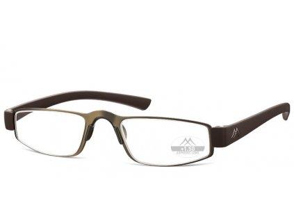 MR99a brýle na čtení hnědá
