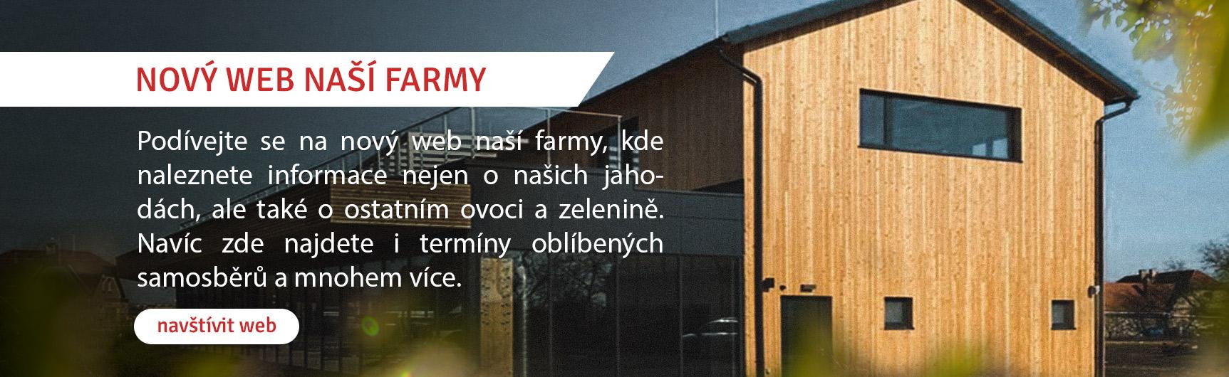 Nový web Farmy Vraňany