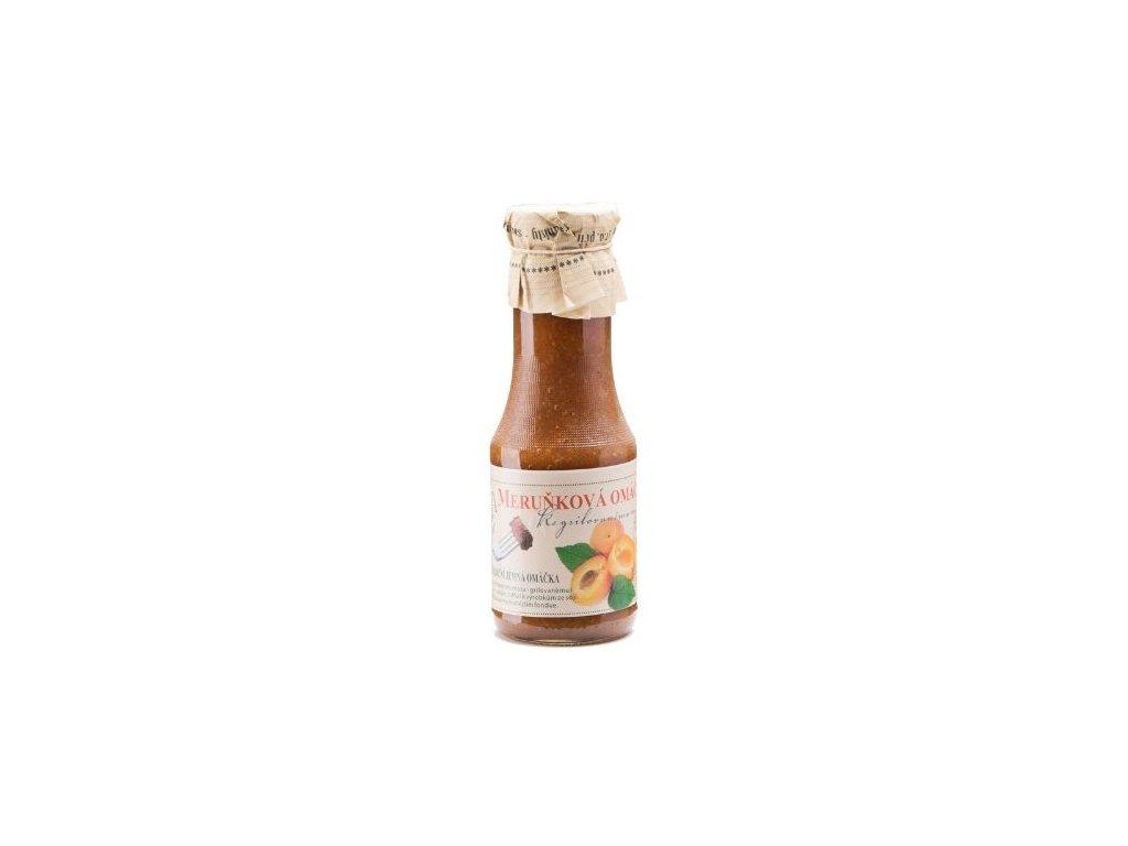 Meruňková studená omáčka
