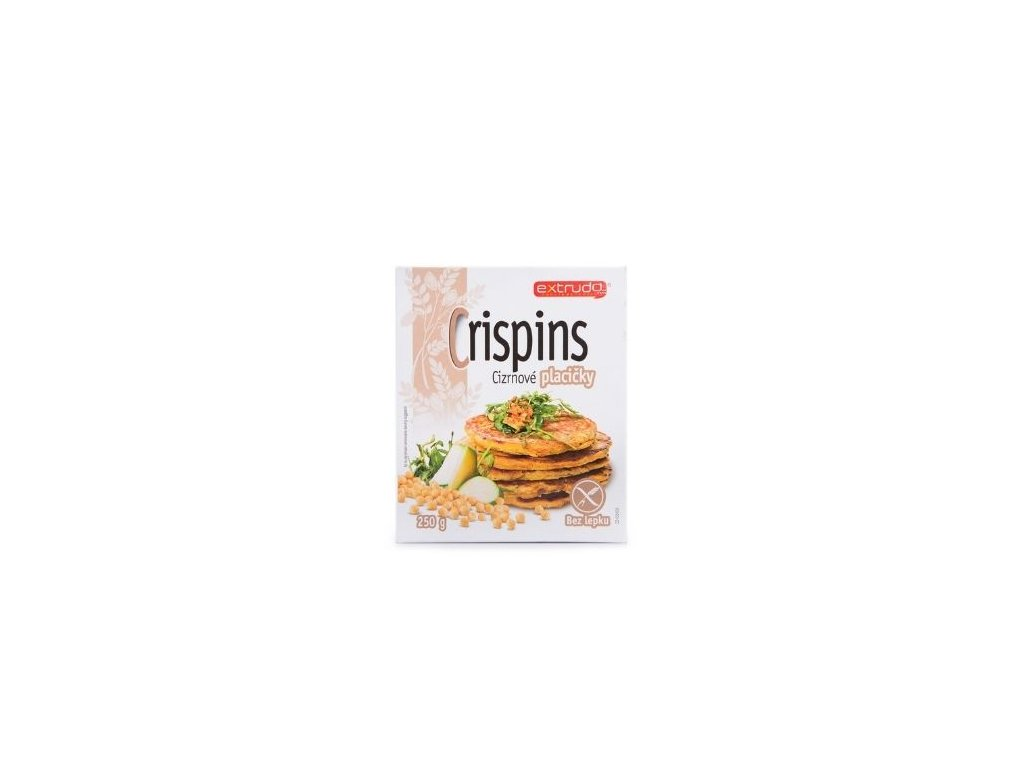 Crispins cizrnové placičky