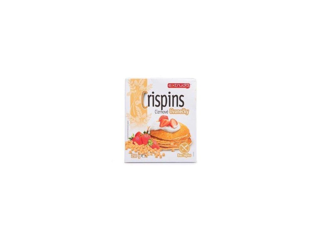 Crispins cizrnové lívanečky