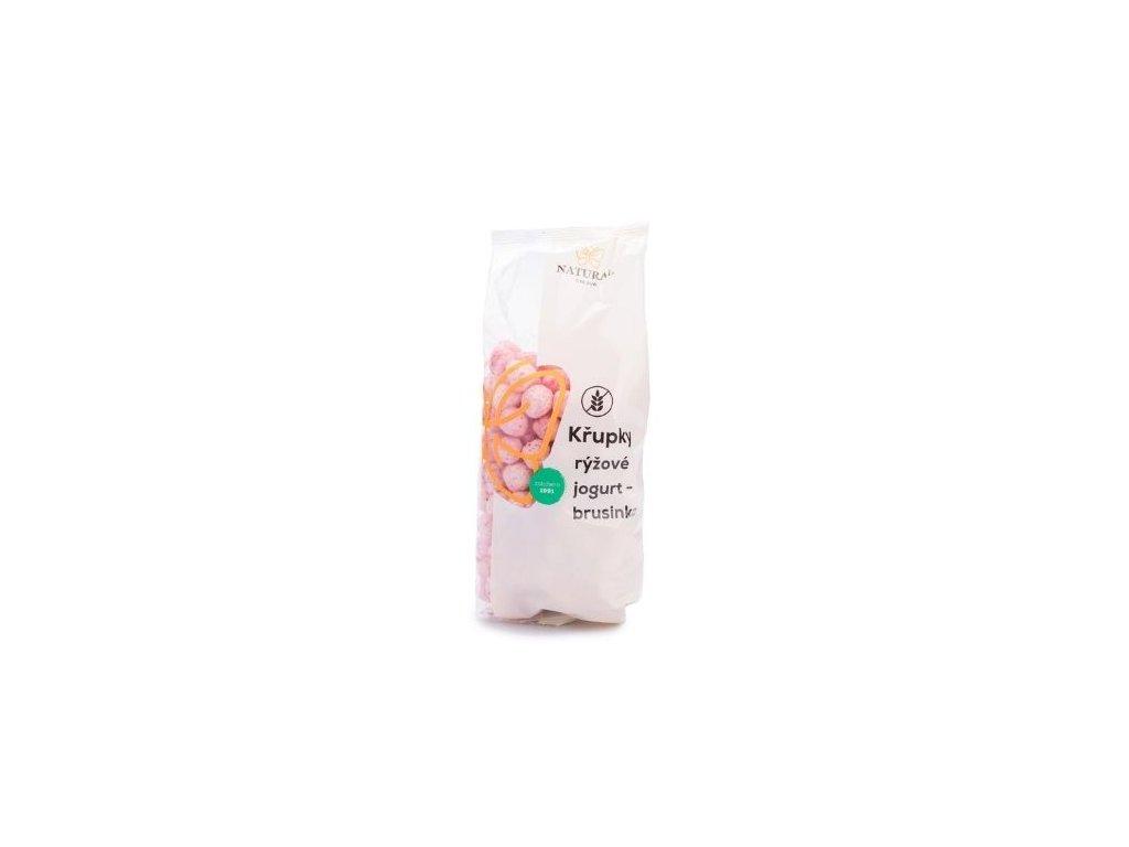 Křupky rýžové jogurt-brusinky 140g