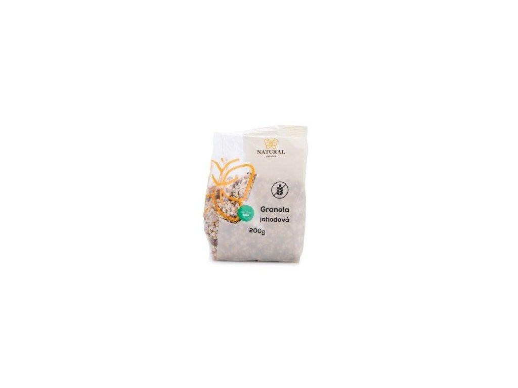 Granola jahodová 200g