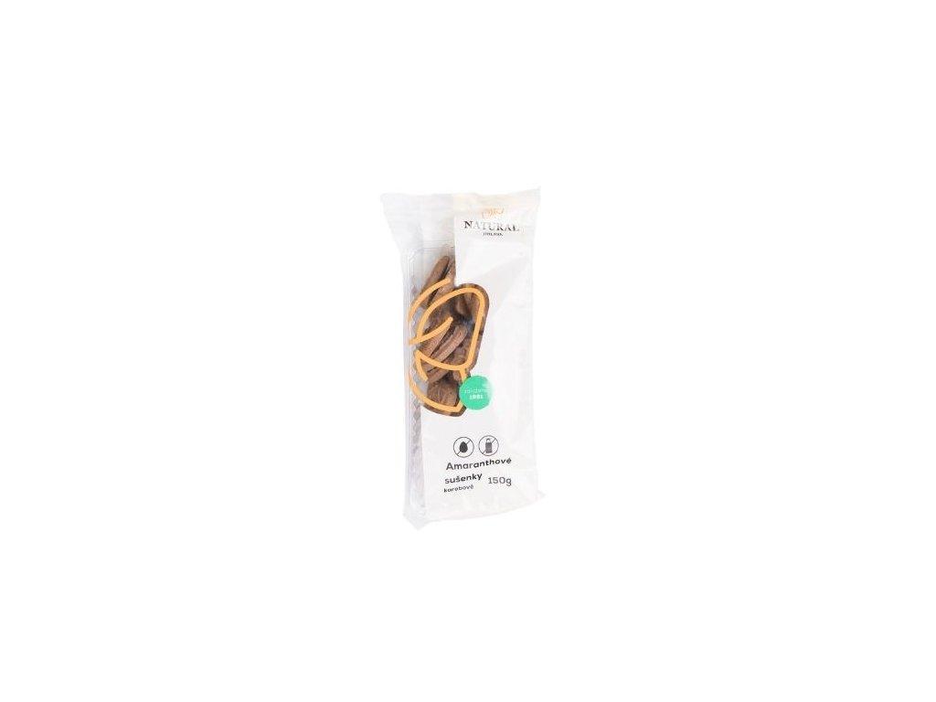 Sušenky amaranthové karobové celozrnné 150g