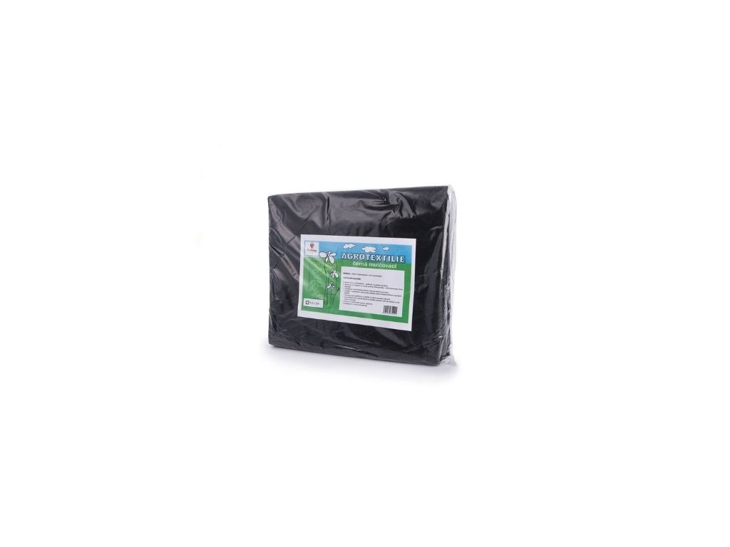 Agrotextilie černá mulčovací 1,6x5m