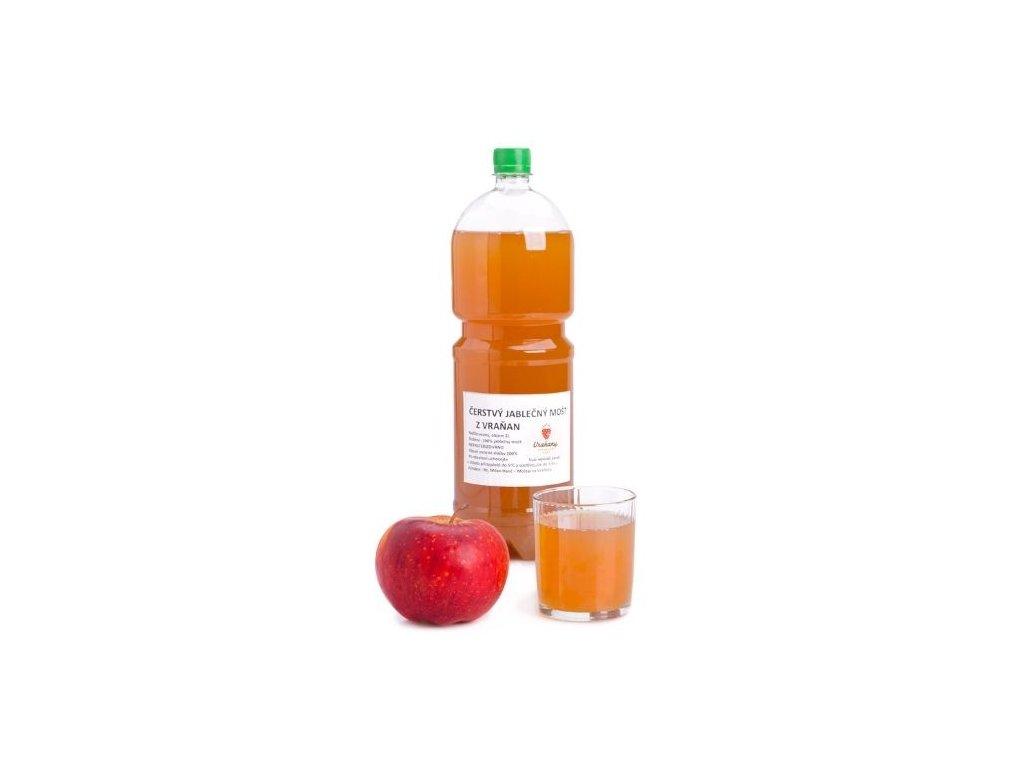 Čerstvý jablečný mošt