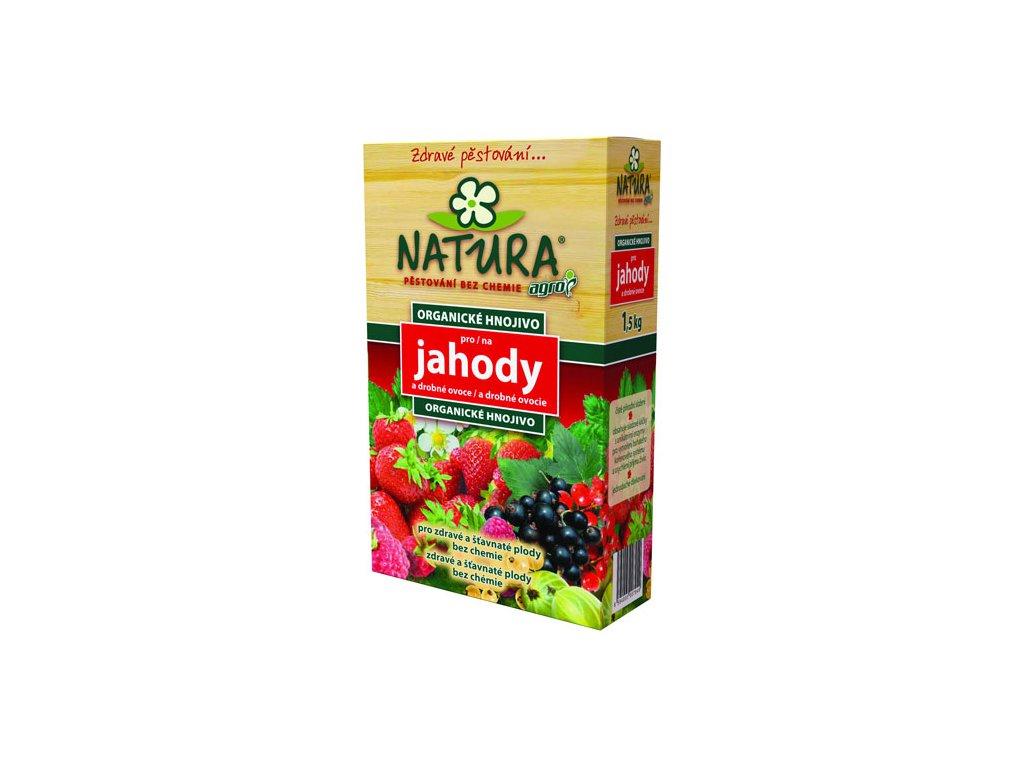 628 000561 NATURA Org hnojivo Jahody 1,5kg 8594005007949
