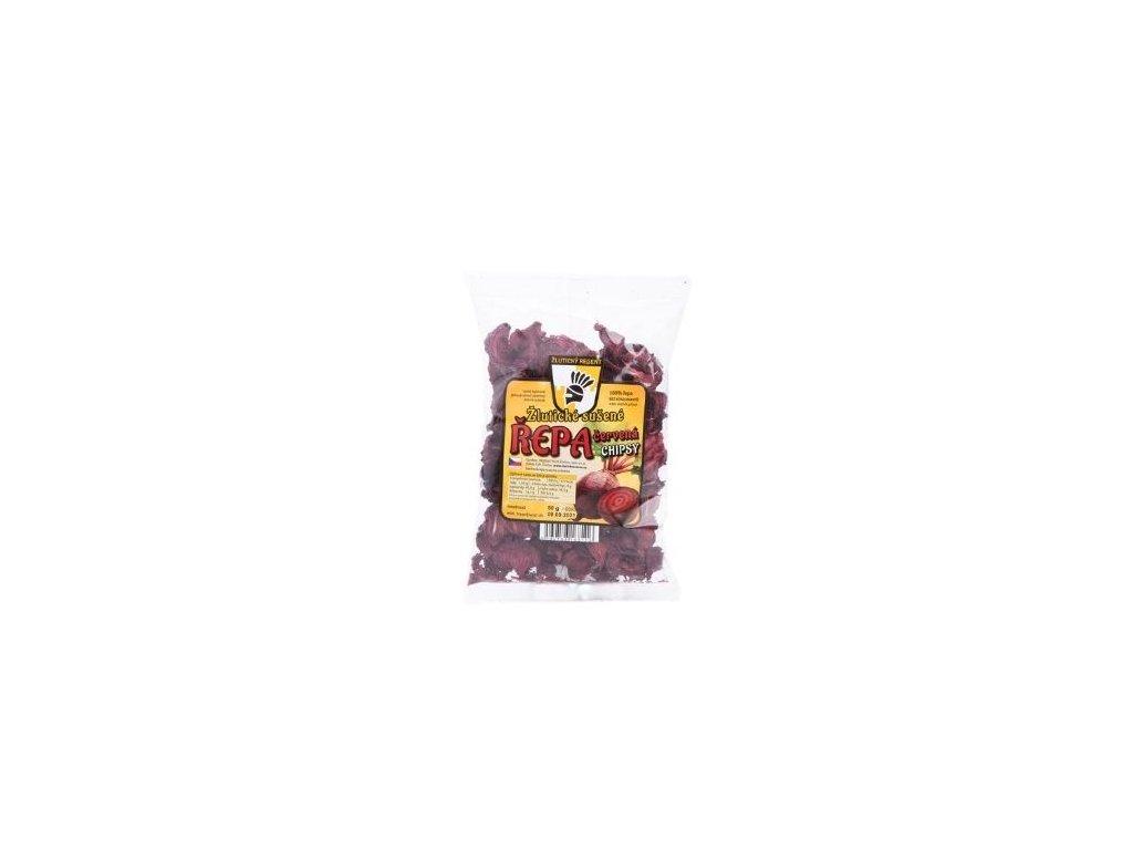 Chipsy z červené řepy 50g
