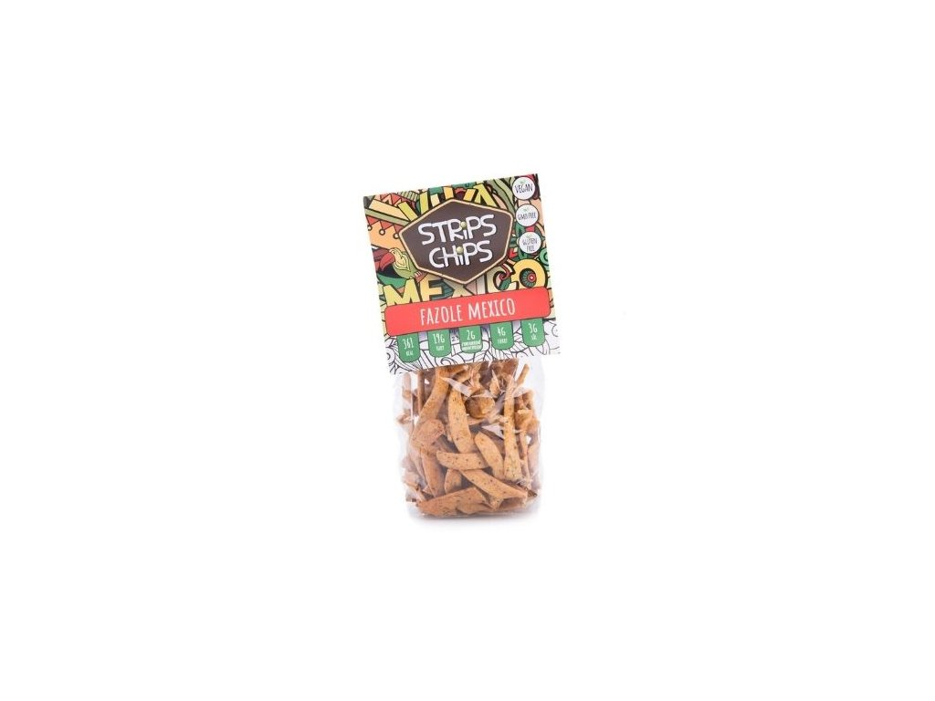 Strips Chips Fazole Mexico 80g