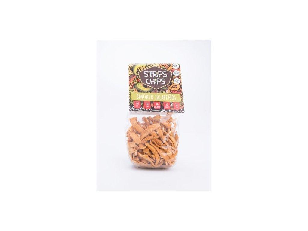 Strips chips Smoked Jalapeños 80g