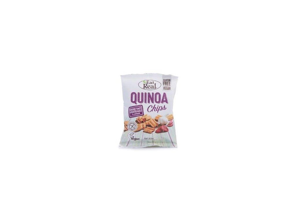 Eat Real Quinoa Chips - Rajče a česnek 30g