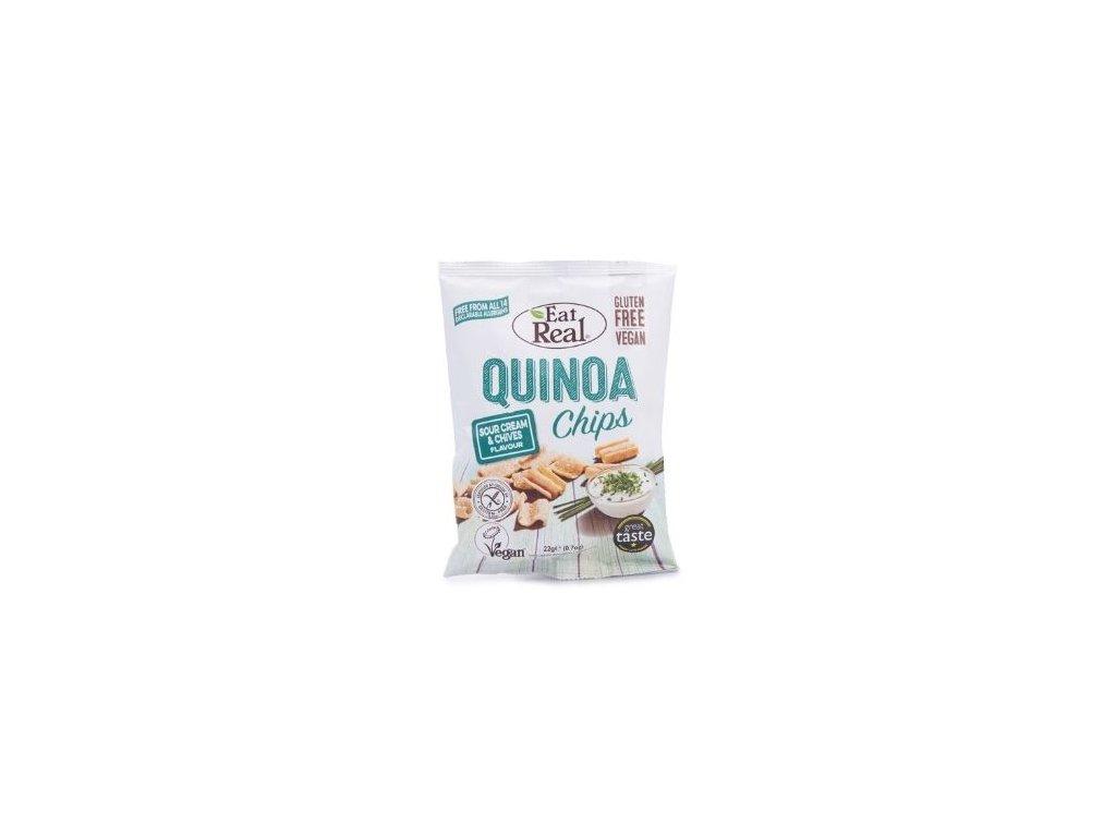 Eat Real Quinoa Chips - Zakysaná smetana a pažitka 30g