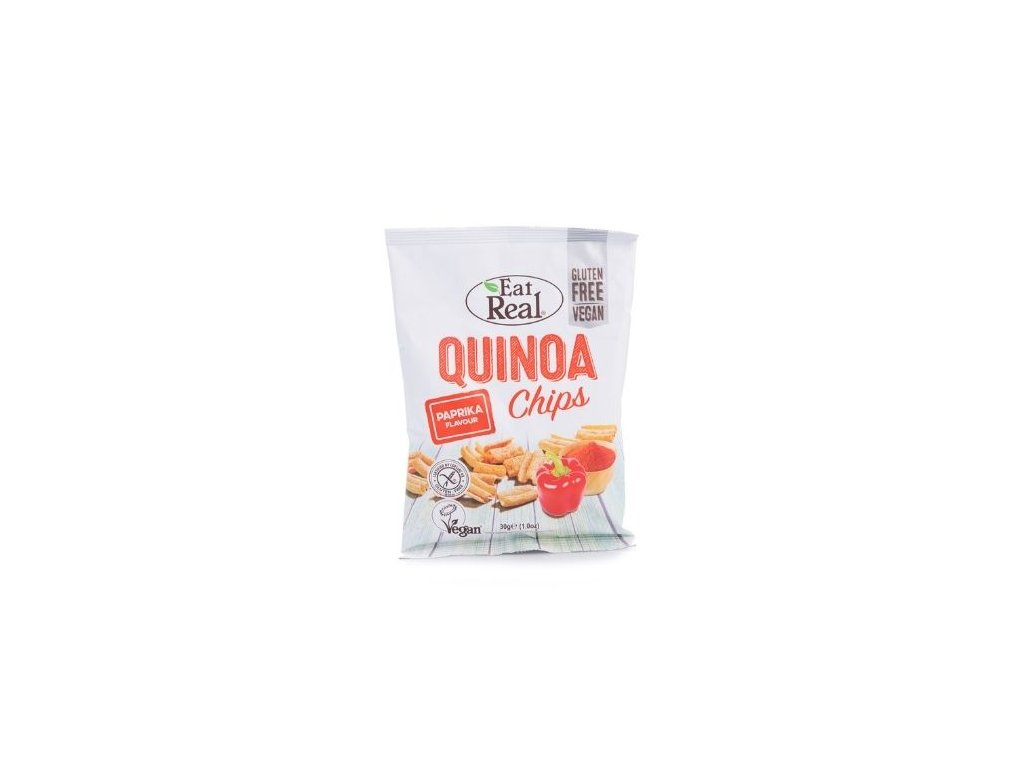 Eat Real Quinoa Chips - Paprika 30g