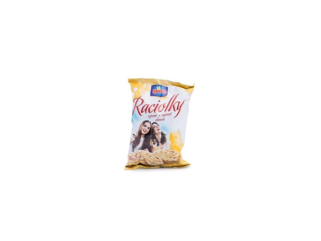 Raciolky - sýr 60g