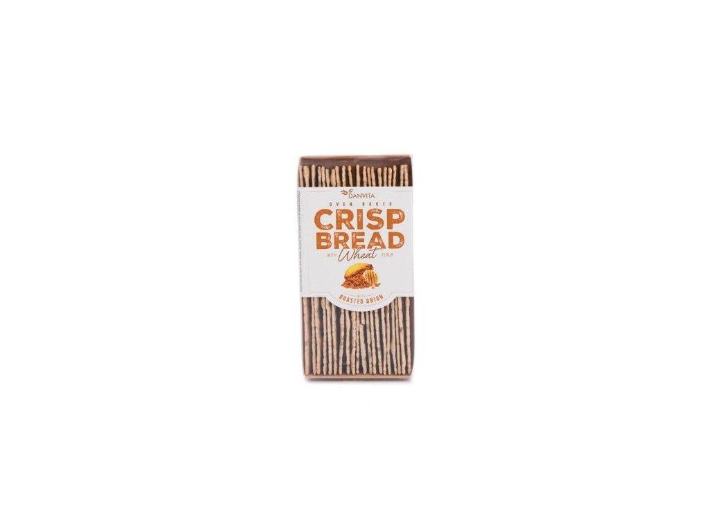 Křehký pšeničný chléb - restovaná cibulka 130g