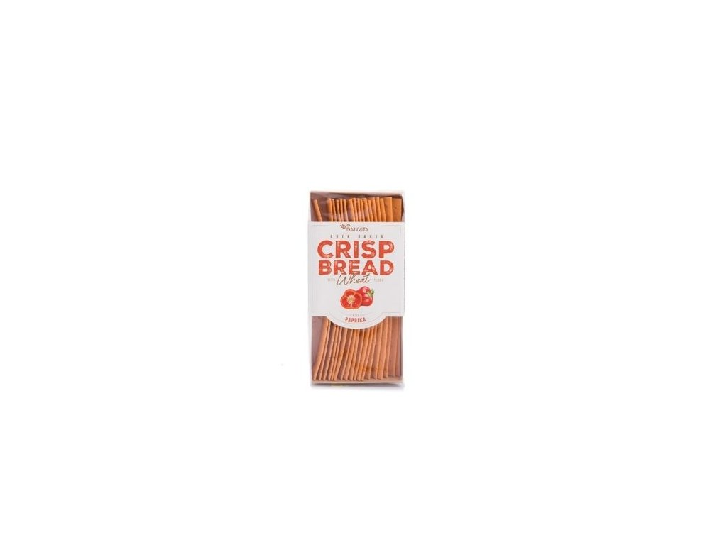 Křehký pšeničný chléb - paprika 130g