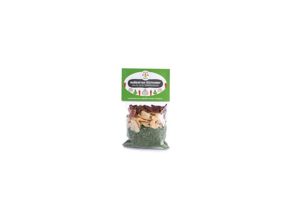 Koření na těstoviny Aglio, olio, peperoncino