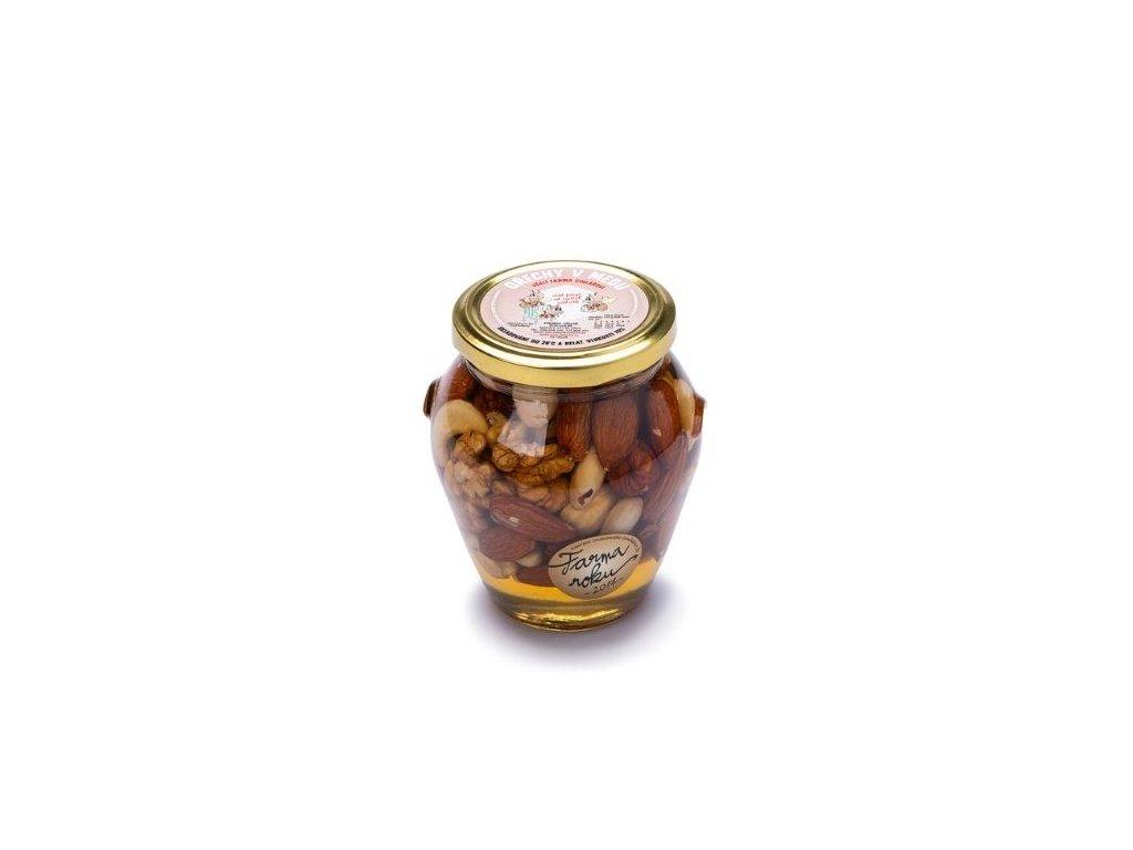 Ořechy v medu 400g