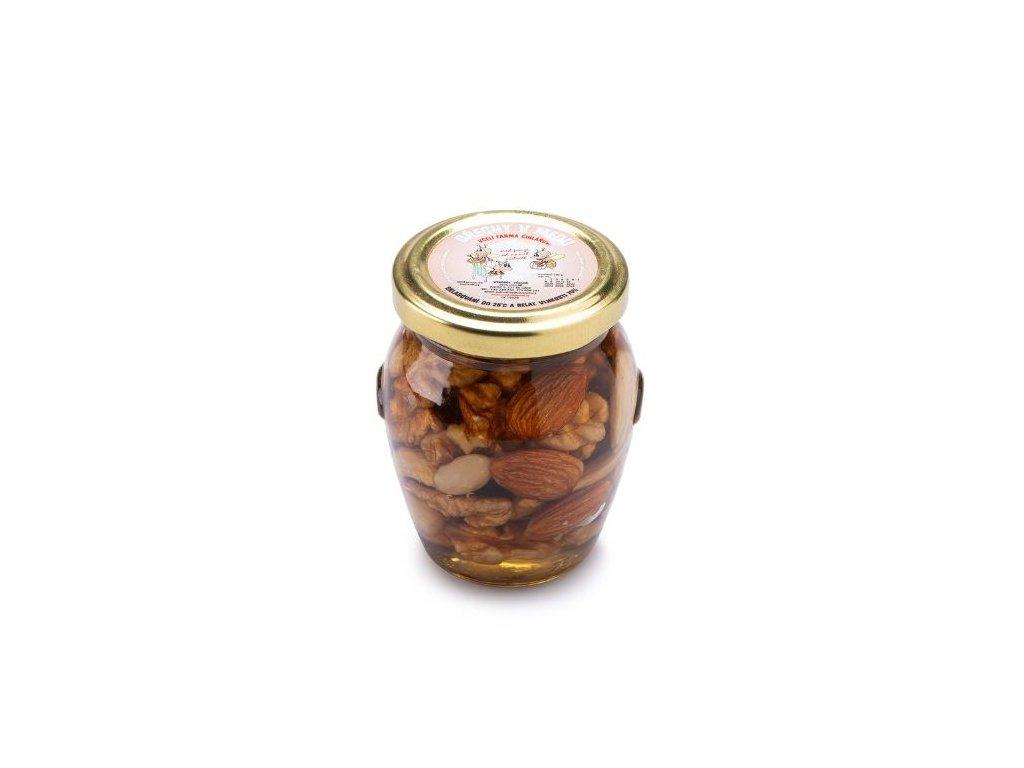 Ořechy v medu 180g