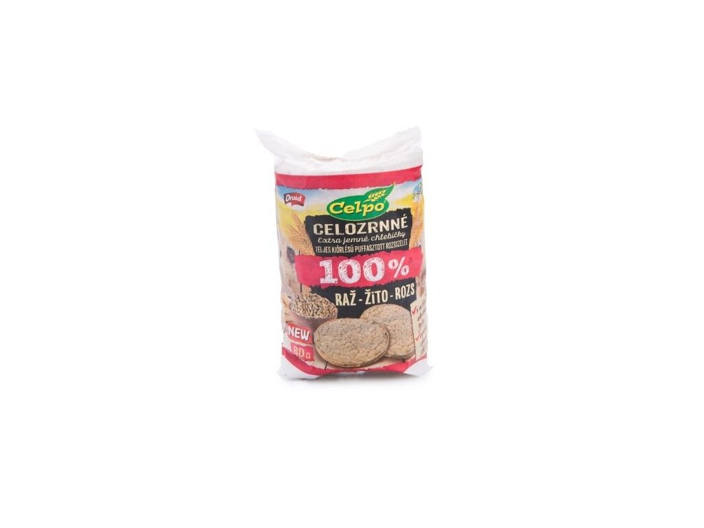 Celozrnné chlebíčky žitné