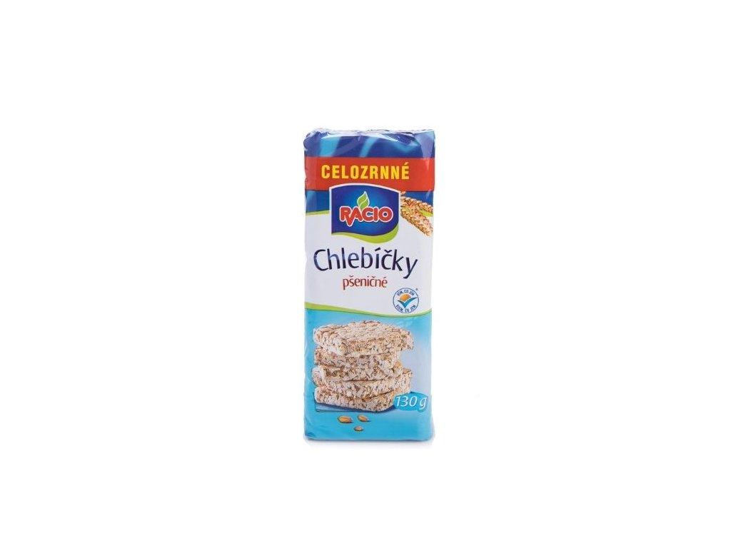 Celozrnné chlebíčky pšeničné