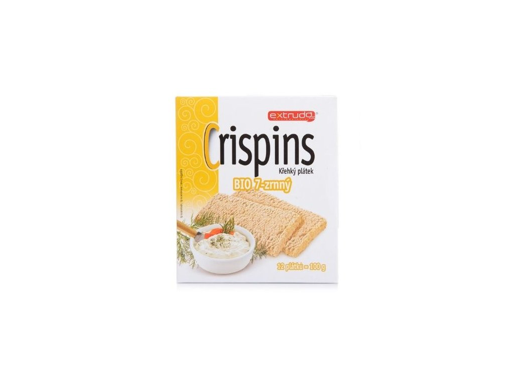 Crispins křehký plátek BIO 7-zrnný