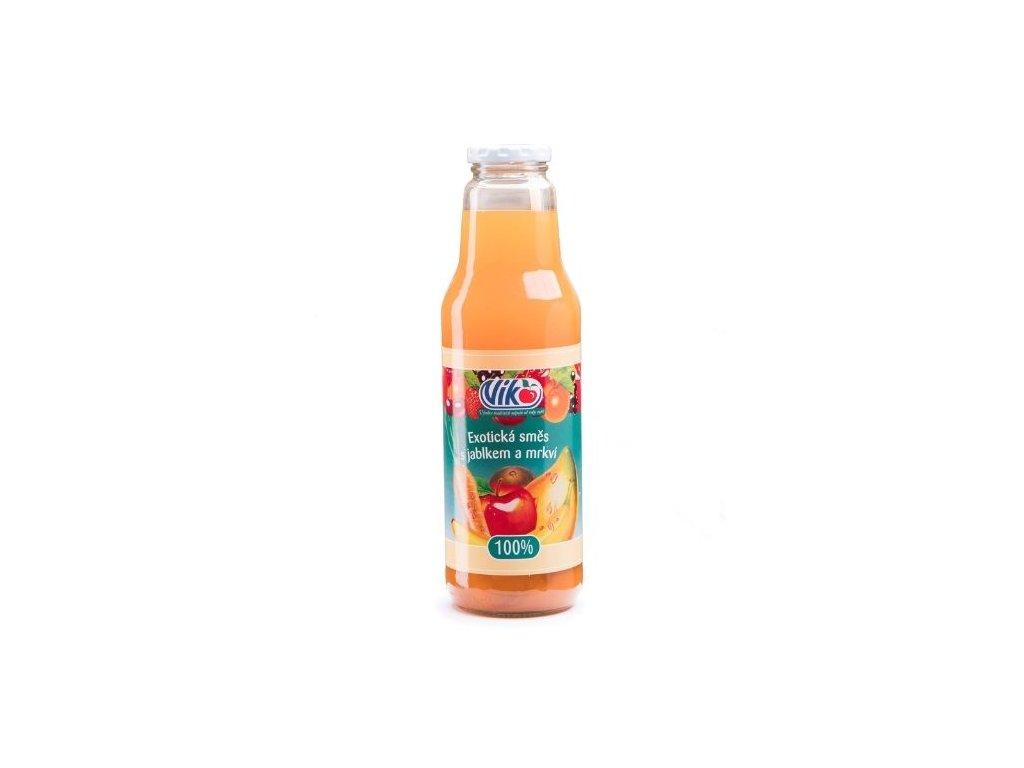 Exotická směs s jablkem a mrkví