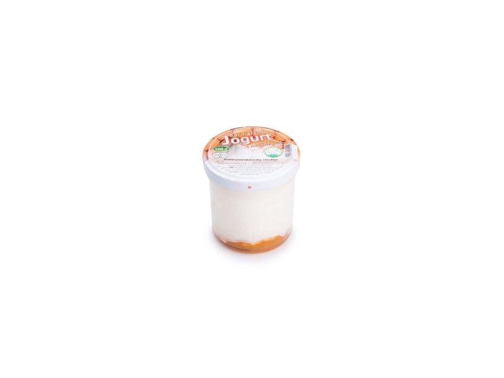 Farmářský jogurt s meruňkami