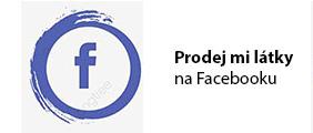 Prodej mi látky na Facebooku
