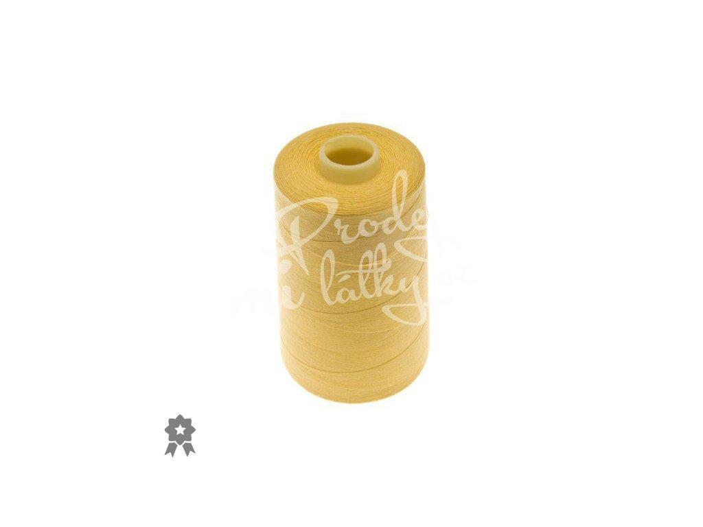 1771 Overlockové nitě ntf 120 40 2 5000y žlutá