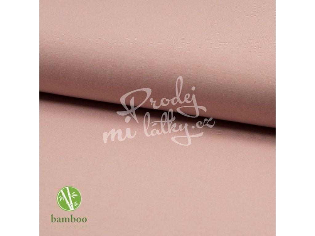 2091 Bambusový úplet 230g Nude