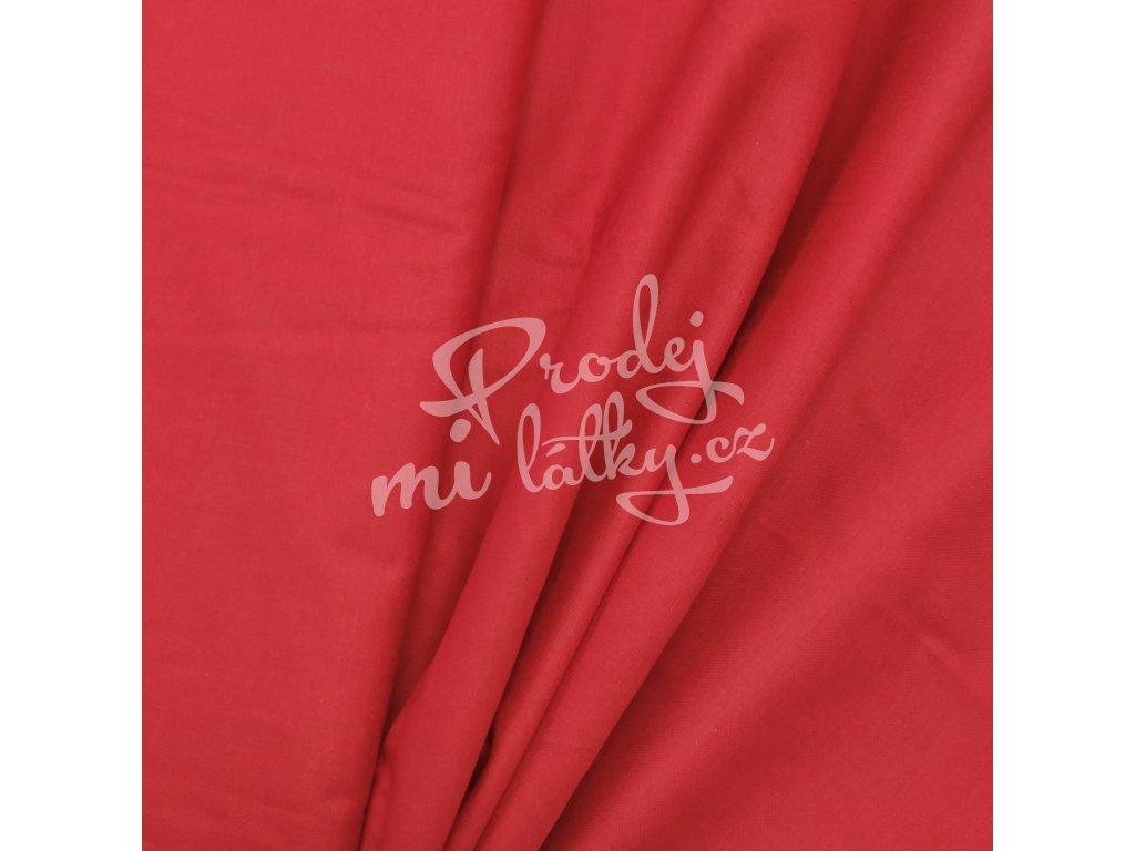 Plátno - Červená š. 160