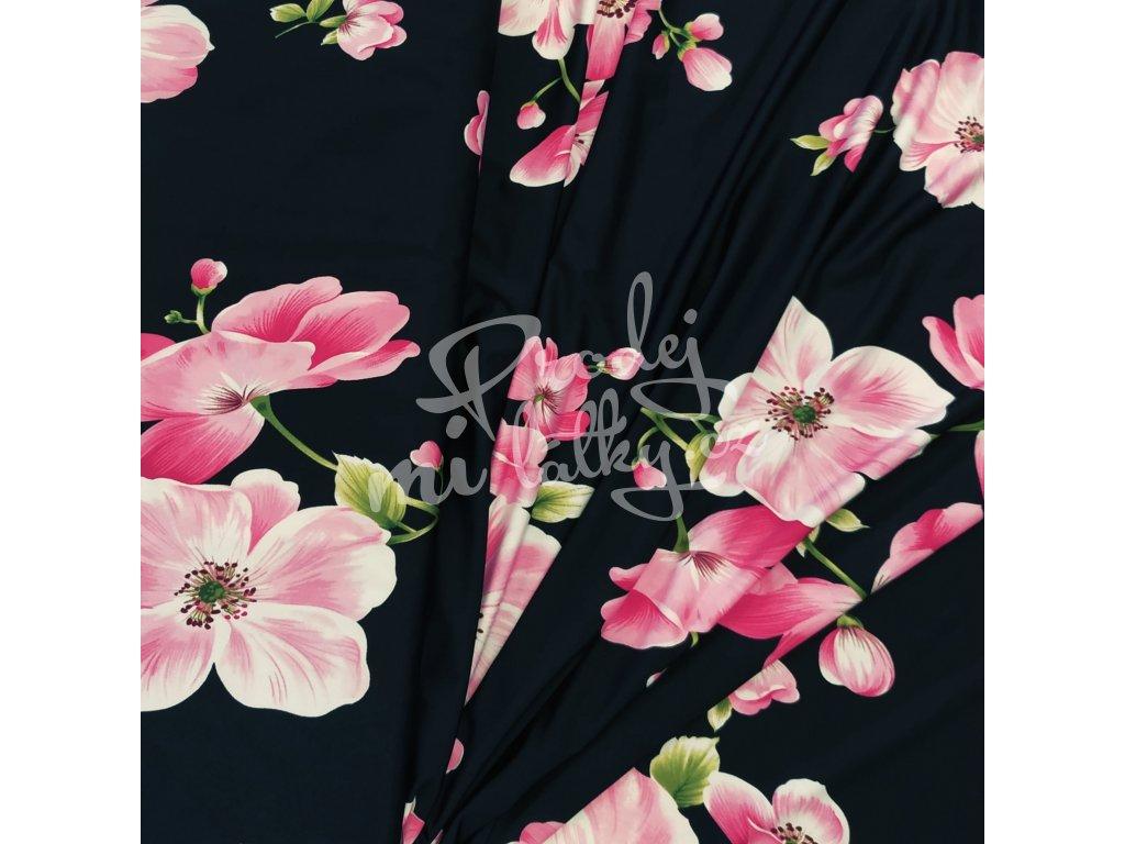 DOSTŘIH: Venecia úplet   Chládek -  Růžové květy 85CM