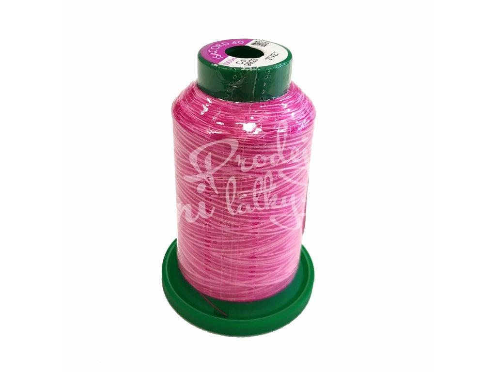 2133 NIT AMANN Isacord multicolor Odstíny růžové 1000m