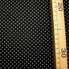 810 Bílé puntíky 0,2cm na černé 2