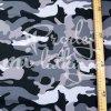 softshell maskáč černý detail