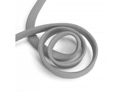 1815 Oděvní šňůra plochá, 10mm světle šedá