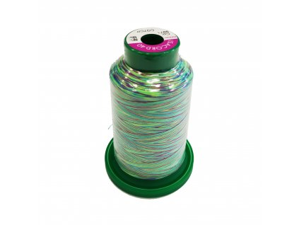 2151 NIT AMANN Isacord multicolor Zeleno modro fialová 1000m