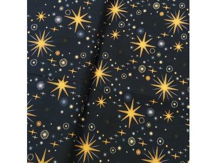 Vánoční plátno - Hvězdná obloha š. 145