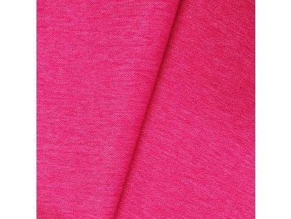 Zimní softshell 10/3 - Rybí kost, Růžová