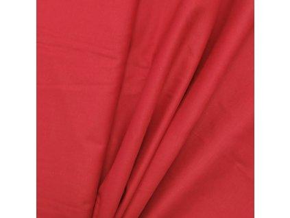 DOSTŘIH: Plátno - Červená š. 160 - 49CM