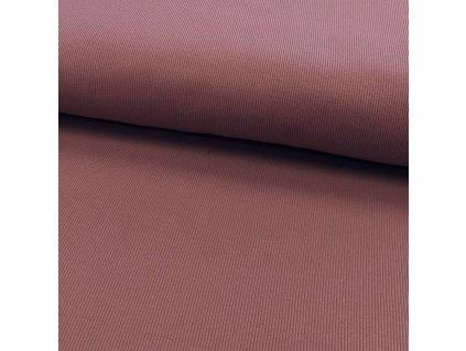 Žebrovaný úplet - Růžovo-fialová