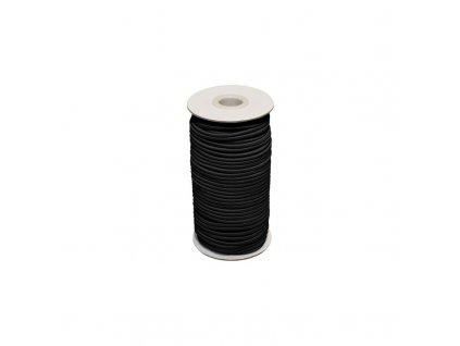 Pruženka klobouková 2mm - Černá
