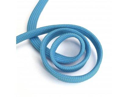 1394 Oděvní šňůra plochá, 10mm modrá