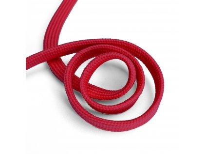 1397 Oděvní šňůra plochá, 10mm červená