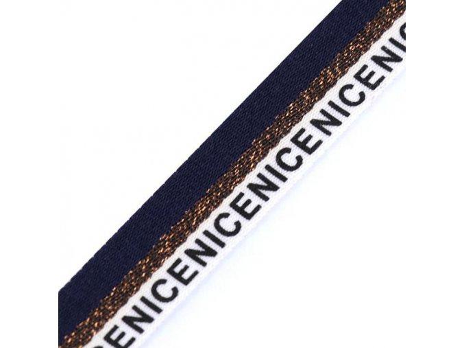 1702 Lampas Nice, tmavě modrá 16mm