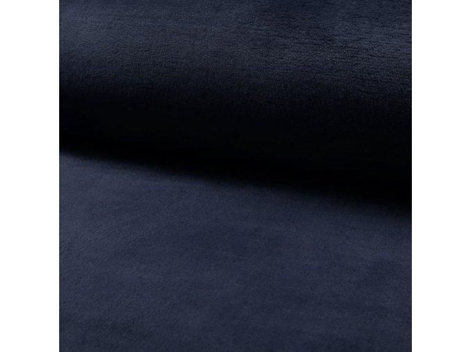 1863 Corel fleece Wellsoft Tmavě modrá