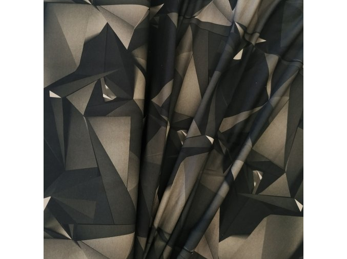 Teplákovina - Trojúhelníkový maskáč