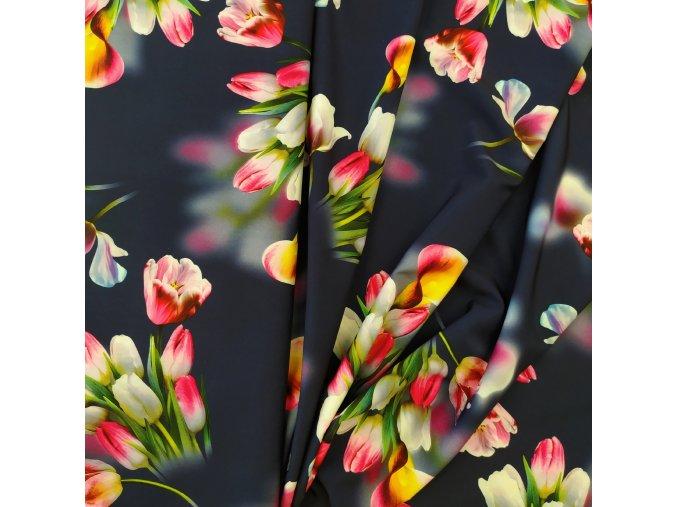 Umělé hedvábí   Silky - Tulipány